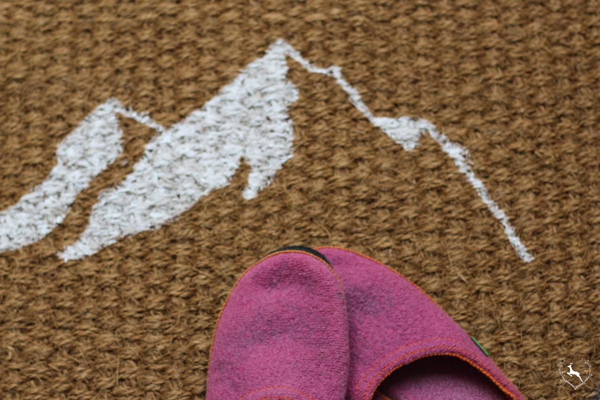 Fußmatte selbst gemacht