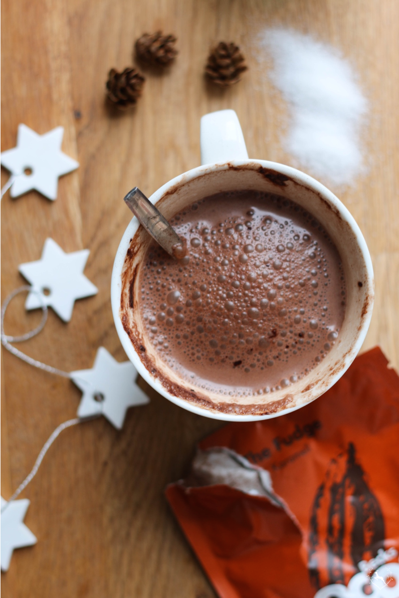 Heiße Schokolade mit Becks Cocoa